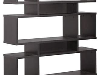 Ashley Furniture Four Level Modern Bookshelf, Dark Brown
