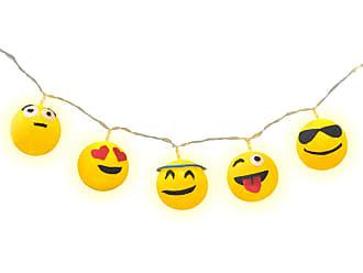 Cormilu Luminária Decorativa Emojis - Pilha Cormilu Amarelo
