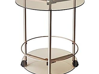 Adesso WK2082-20 Gibson Rolling End Table