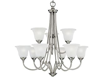 Thomas Lighting SL8802 9 Light Up Lighting Chandelier from the Harmony