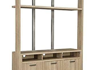 Sandberg Furniture Martin Svensson Home 90636 Market Street Entertainment Center, White Oak