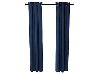 Furinno 2-FC66002DBL Collins Curtain 42x84 inches Dark Blue