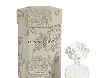 Zodax Mini Grand Casablanca Porcelain Diffuser, White Rose