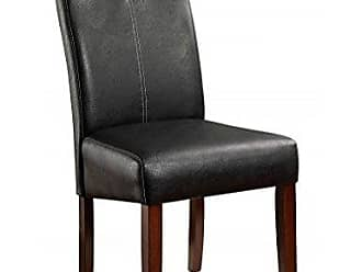 FURNITURE OF AMERICA 24/7 Shop at Home 247SHOPATHOME IDF-3824SC Dining-Chairs, Vintage Cherry