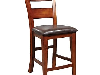 Winners Only Mango Counter Height Ladder Back Stool (Pack of 2)