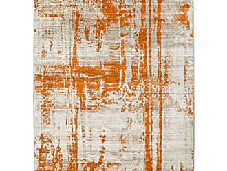 Surya Carlotta Orange Modern Area Rug 76 x 106