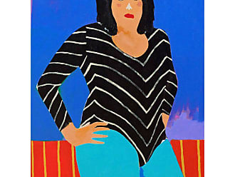 Alan Fears the Furious Julie Portrait Painting By Alan Fears Pop Art Wrestling Lady