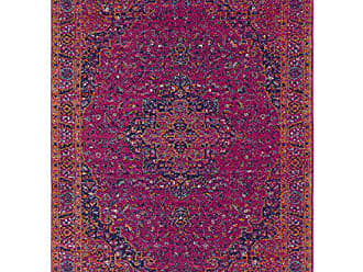Surya Yanna Pink Updated Traditional Area Rug 53 x 73