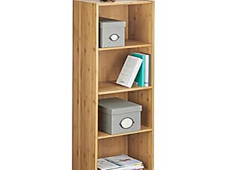 HxBxT: 104,5 x 35,5 x 30,5 cm Relaxdays Badregal wei/ß mit Aufbewahrungsboxen als K/üchenregal Ablage f/ür Wohnzimmer