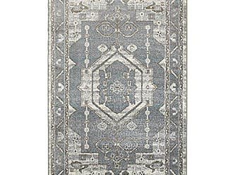 L.R. Resources Inc. MATRI81154GYS7995 Matrix LR81154-GYS7995 Frost Gray/Silver Rectangle 7 x 9 ft 5 in Indoor Area Rug, 79 x 95