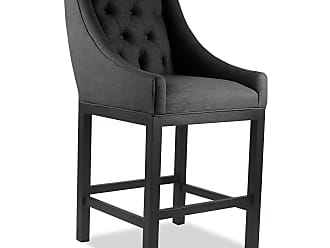 SOUTH CONE Naples 30 in. Bar Stool - ALEXBS30/CHARCOAL