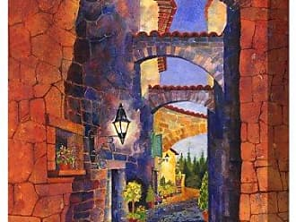 West of the Wind All-Weather Art Print, 30 by 40-Inch, Arches of San Gemini