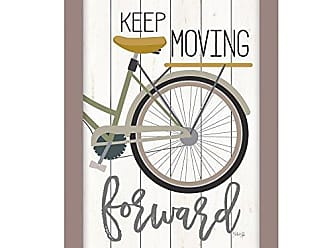 Trendy Decor 4 U Moving Forward By Marla Rae, Printed Wall Art, Ready To Hang Framed Poster, Beige Frame