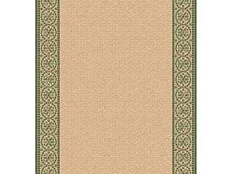 Dynamic Rugs Piazza Mosaic Indoor/Outdoor Area Rug - Natural/Green - PZ91227451E01