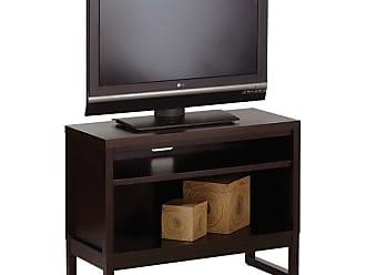 Progressive Furniture Athena TV Stand - Dark Chocolate - P109E-80