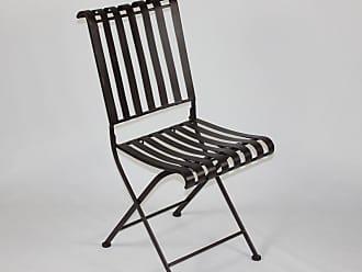 4D Concepts Outdoor 4D Concepts Metal Folding Chair - Set of 2 - 55582