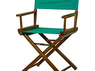 Yu Shan Casual Home 18 Directors Chair Honey Oak Frame with Teal Canvas