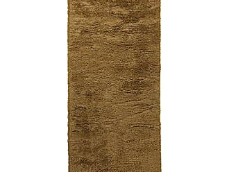 Surya Ashton ASH-1303 Contemporary Hand Woven 100% New Zealand Wool / Viscose Gold 4 x 10 Solid Runner