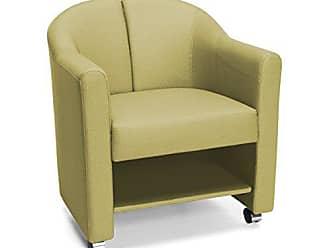 OFM 880-LEF Mobile Club Chair, Leaf Green