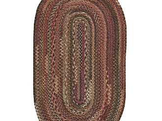 Capel Rugs Oval Riverview Wool Blend Braided Rug, 5 x 8