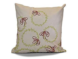 E by Design E by design O5PHGN695GR10RE6-16 Printed Outdoor Pillow