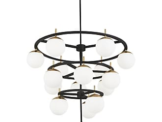 George Kovacs P1359-618 Alluria 16 Light 36 Wide Chandelier with Etched Opal