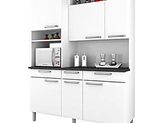 Itatiaia Armário para Cozinha Regina Itatiaia I3VG3-155 Branco Neve