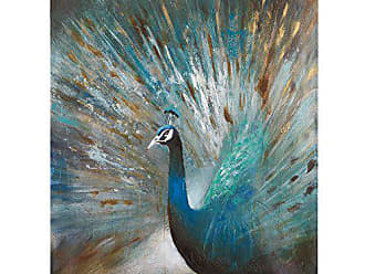 Yosemite Home Decor Yosemite Home Decor Peacock Prowess, Multi
