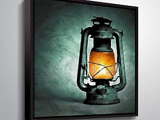 Brushstone Kerosene by Scott Medwetz Framed Canvas - 0MED854A1010F