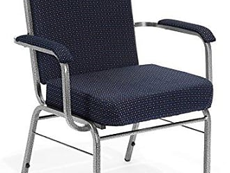 OFM 300-XL-4PK-3145 Big and Tall Comfort Class Guest Chair, 35 Height, 29 Width, 25 Length, Navy (Pack of 4)