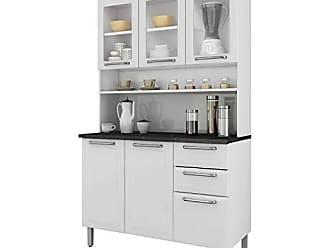 Itatiaia Cozinha Compacta Itatiaia I3vg2-120 Regina 6 Portas Branca Neve