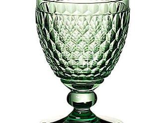 Villeroy & Boch Boston Wine Clarets Set of 4, Green