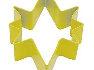 CybrTrayd R&M Bethlehem Star Durable Cookie Cutter, 3.5-Inch, Yellow, Bulk Lot of 12
