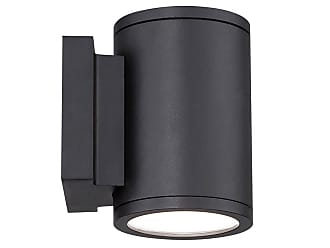 WAC Lighting WAC Tube LED Indoor/Outdoor Up and Down Wall Light in Black