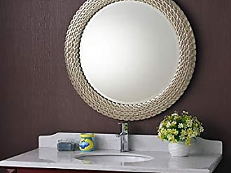 Kenroy Home Bracelet Wall Mirror, 35 Inch Diameter, Brushed Silver and Gold