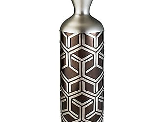 Ore International K-4276-V2 Bamboo Weave Design Vase Decor, 6.25 x 22, Chestnut