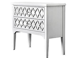 FURNITURE OF AMERICA HOMES: Inside + Out IDF-AC505 Reyna Hallway Cabinet, White