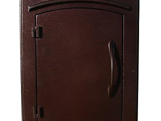 QualArc Manchester Column Mounted Mailbox Antique Copper - MAN-1400-AC