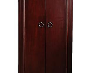 Hives and Honey Hives and Honey Cabby Fully Locking Jewelry Cabinet, Cherry