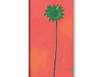 ArtWall Jan Weisss Tangerine Palm Gallery Wrapped Canvas Artwork, 18 x 36