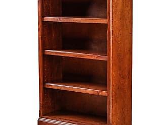 Forest Designs Traditional Birch Bookcase Unfinished Alder, Size: 96 in. - B6112- TAU-96H-UA