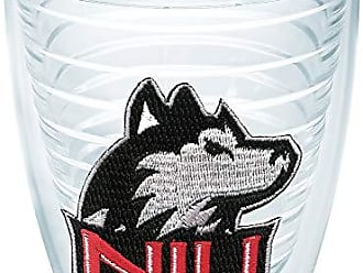 Trevis Tervis 1006600 Northern Illinois Huskies Logo Tumbler with Emblem 12oz, Clear