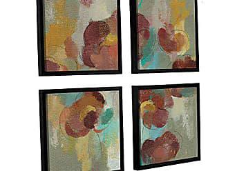 3 Piece Floater Framed Canvas Flag Set 24x36 Saco Bay ArtWall Winslow Homers Sunset