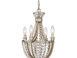 Quoizel Majesty 19 4-Light Chandelier in Vintage Gold