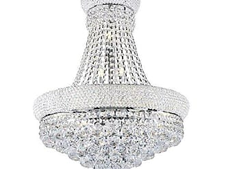 Ore International K-5805H 26 Adagio Empire Crystal Led Ceiling Lamp, Unknown