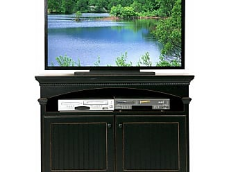 Eagle Furniture American Premiere Customizable 48.75 in. Entertainment TV Stand with 2 Doors - 16145WPBK