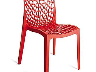 Artezanal Cadeira Gruvyer Vermelha