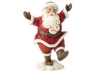 Enesco Jim Shore Heartwood Creek Pint Sized Walking Santa
