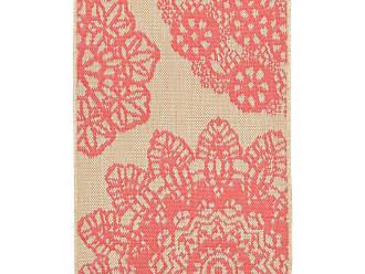 Liora Manne Terrace Crochet Indoor/Outdoor Area Rug Orange - TER23102517