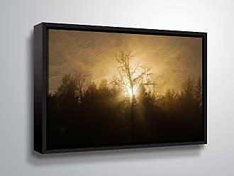 Brushstone Sunset On Clague by Scott Medwetz Framed Canvas - 0MED897A0812F